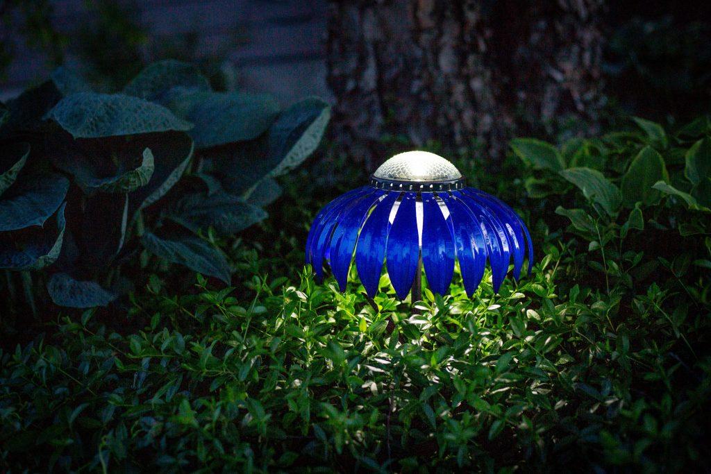 Blue Indigo solar light