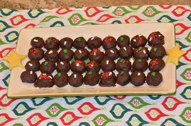 tray of oreo balls