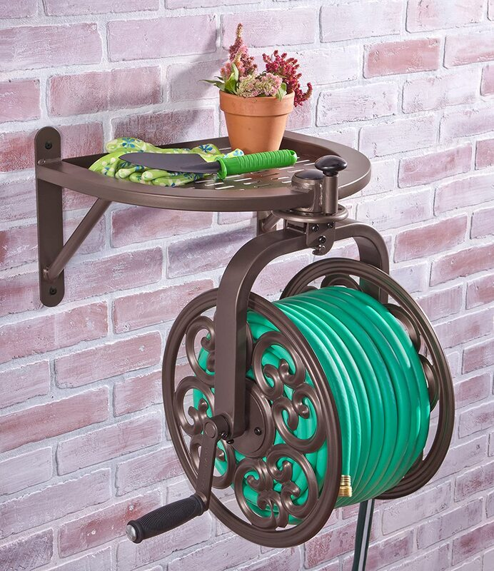 """Your new """"main squeeze"""" with the Liberty Garden #710 Navigator Hose Reel Giveaway ARV $130!"""
