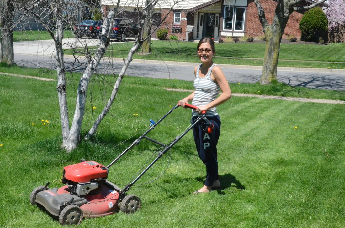 How early is too early to mow the lawn?