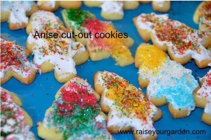 Anise Cut-Out Cookies – Kris Kringle Cut-Out Sugar Cookies