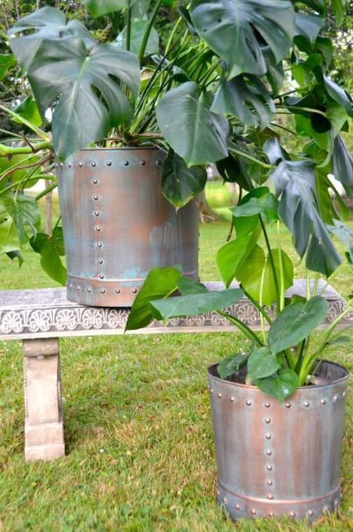 "Win a ""riveting"" planter set from Good Directions! ARV $182!"