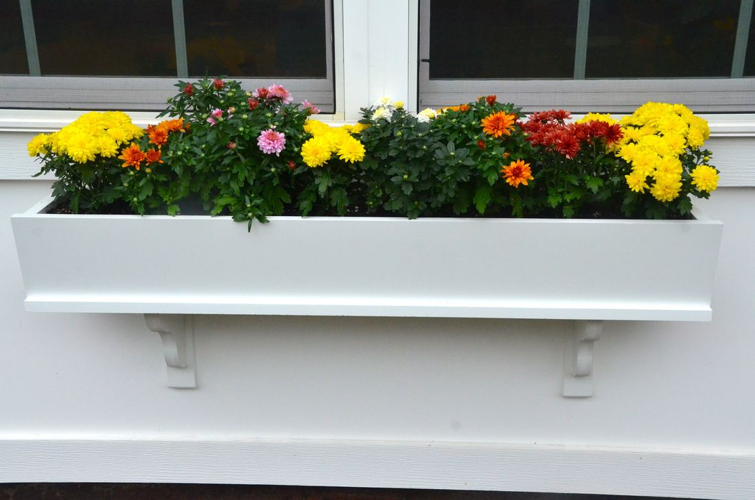7 ways to spice up your planters with $260 composite PVC window box giveaway from Good Directions!