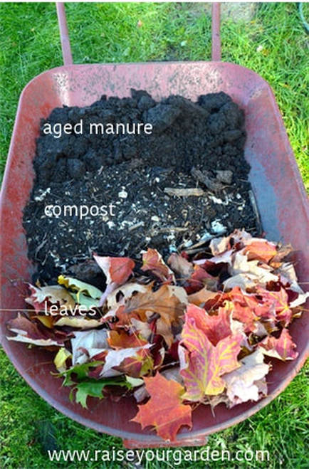 Garden prep ~ How-to smother weeds with cardboard, newspaper and compost