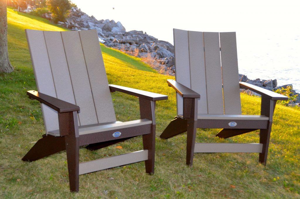 Nags Head Hammocks Chocolate and Weatherwood durawood chairs