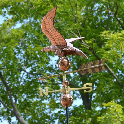 Good Directions Eagle Weathervane & Boot Tray double giveaway.  ARV $325! + $55 installation kit!
