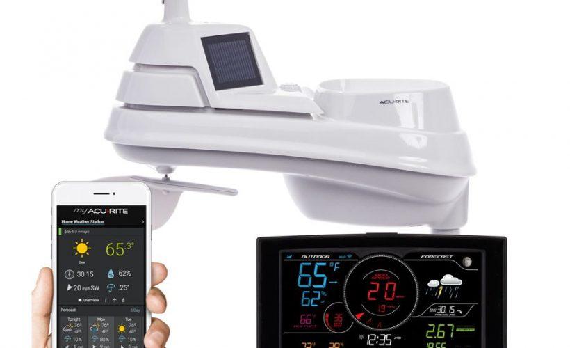 phone moniter and outdoor sensor