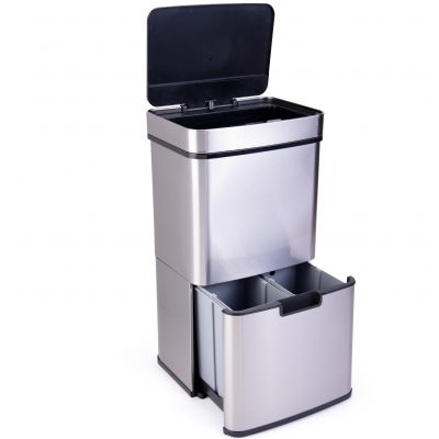 Motion sensor trash can from Displays2go $179.99 giveaway!