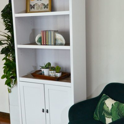 Sauder Cottage Style Library with Doors Giveaway ARV $230!