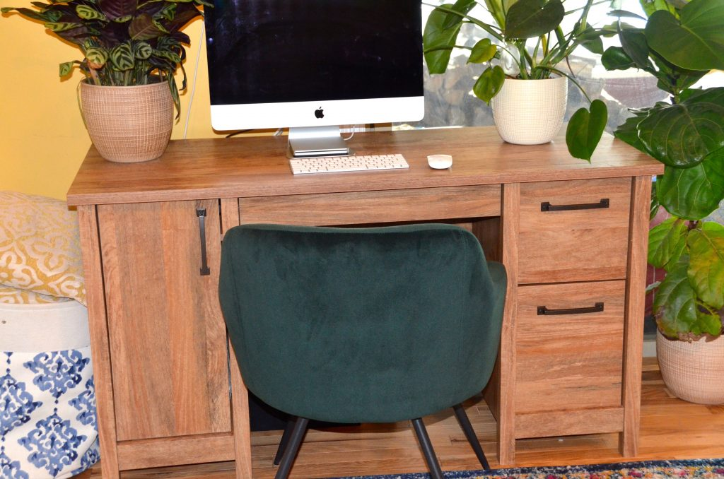 creating home office spaces with Sauder is easy!