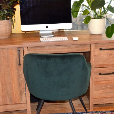 Creating home office spaces with the stellar $480 Sauder giveaway!
