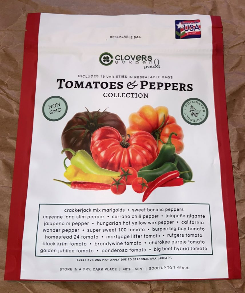 tomatoes and peppers collection