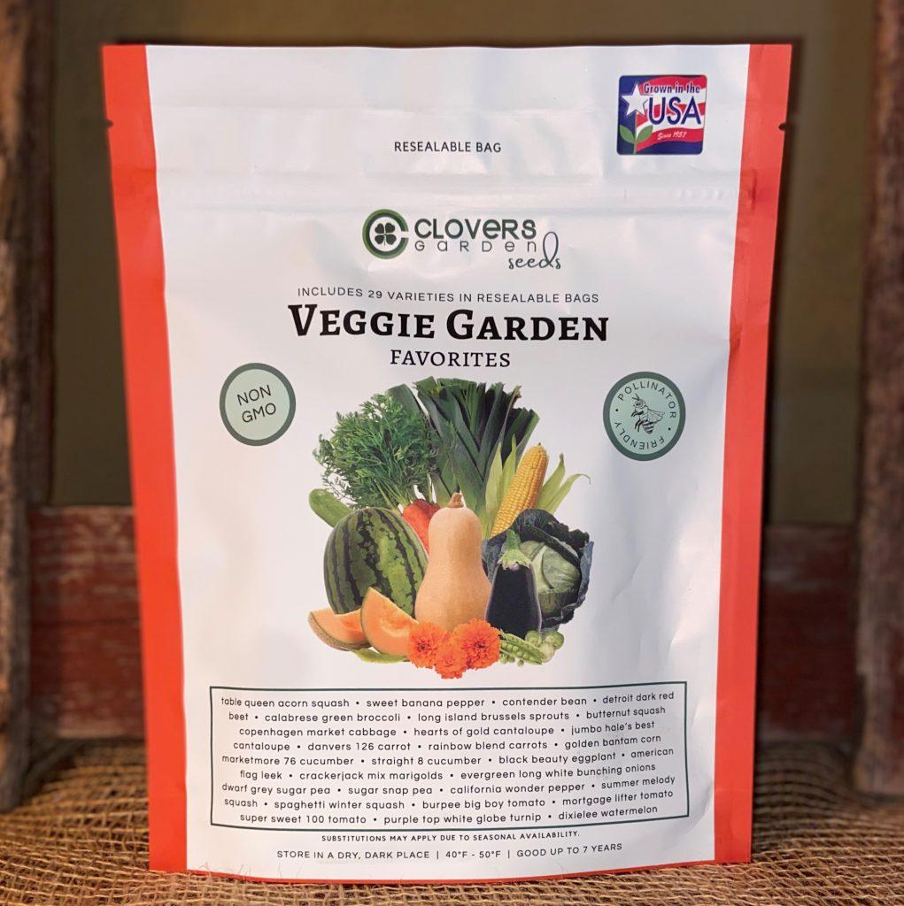 Clovers seeds vegetable garden