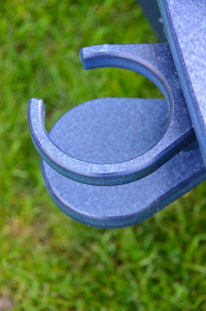 Cup holder for an Adirondack chair